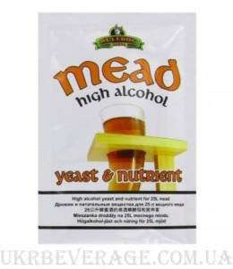 Дріжджі для медовухи Bulldog MEAD High Alcohol Yeast