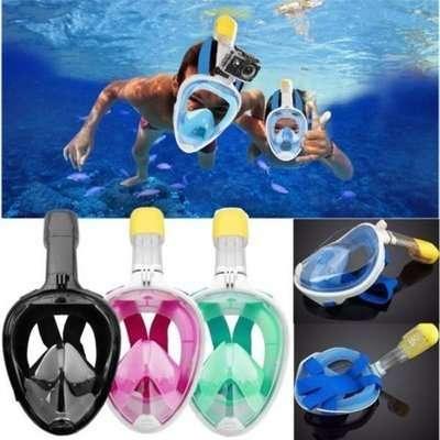 Маска для плавания FREE BREATH