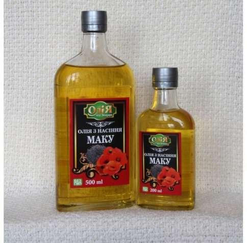Масло семян Мака