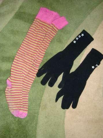 Гольфи, рукавички