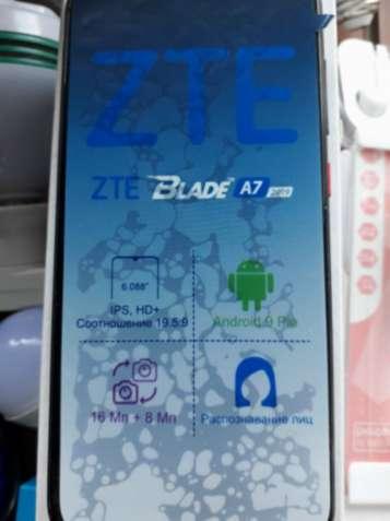 Продам не дорогo новый смартфон ZTE Blade A7.