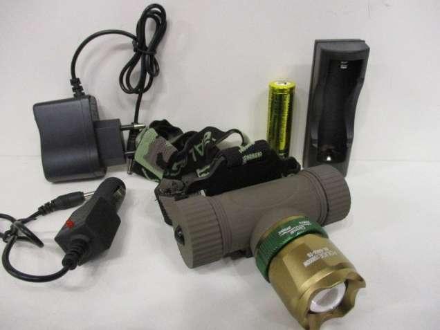 Налобный фонарь Bailong Police BL-6866-T6 -31% Акция
