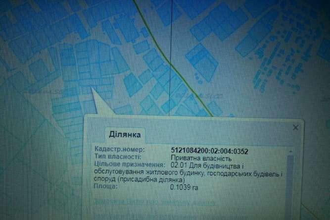 продам у-к 10,4 сот в НАТИ c. Нерубайское. пер. Комарова