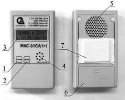 (профессиональный) Дозиметр-радиометр МКС-01СА1М (альфа, бета, гамма)) - зображення 4