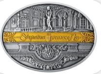 Пам`ятна медаль зі срібла `Маріїнський палац`. Сувенірна продукція