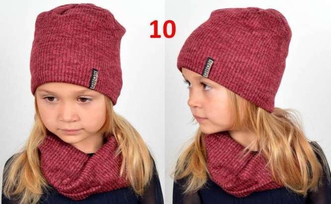 Набор шапка и хомут, детский, демисезонный