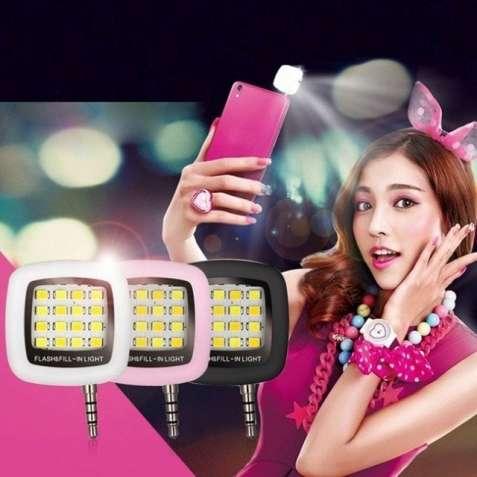 Универсальная Светодиодная Вспышка, LED, Селфи, Подсветка,фонарь