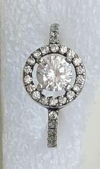 Кольцо серебряное. Проба 925. Размер 16.5-17.