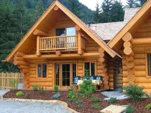 Прекрасный дом из бруса