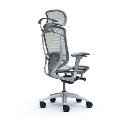 Кресла руководителя Okamura CONTESSA II Sekonda Light grey, серый карк - зображення 2