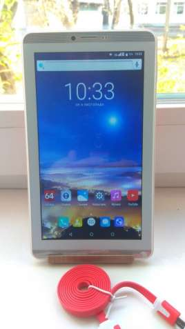 Продам планшет SP7731c wifi + 3g 1/16gb,ЗВОНИТ.
