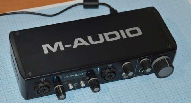 Звуковая карта M-Track Plus II (24-bit/96 kHz)