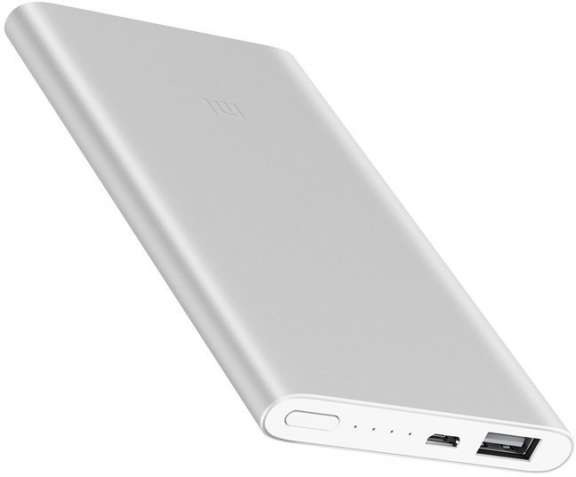 Xiaomi Mi Power Bank 2 5000 mAh Silver (VXN4226CN)