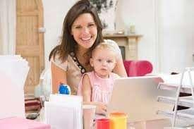 Подработка на дому для мамочек