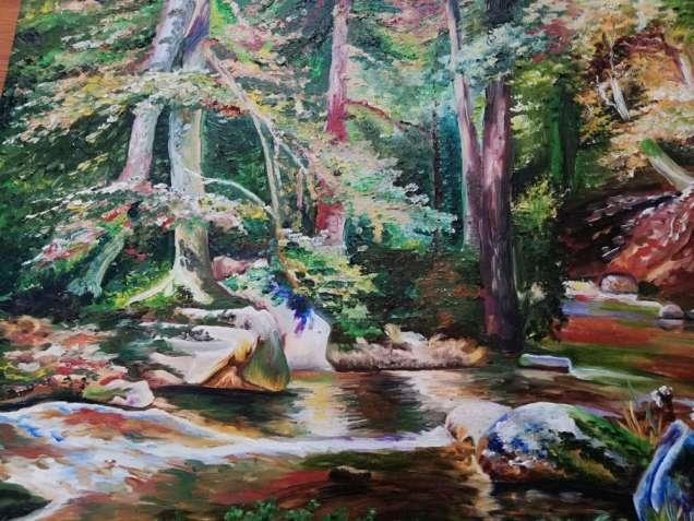 """Картина """"У дрімучому лісі"""""""