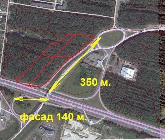 Большой участок на фасаде Бориспольской трассы, 3,6 ГА (коммерция)