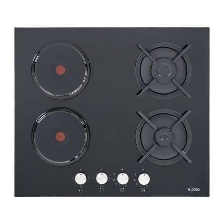 Варочная поверхность Ventolux HSF622-B3G (BK) плита поверхня печка