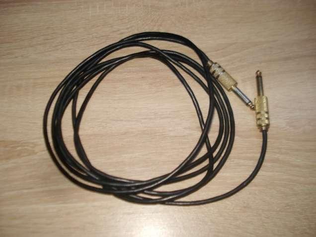 Аудіо кабель 6,5 mm - 6,5 mm. 3 метра.
