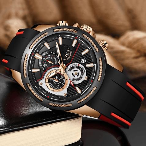 Кварцевые часы LIGE 9960
