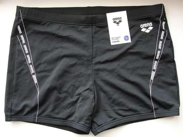 Плавки-боксеры Arena M Worth Short (Черные с логотипом)