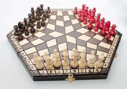 Польские шахматы на троих купить оптом Киев Украина доставка недорого