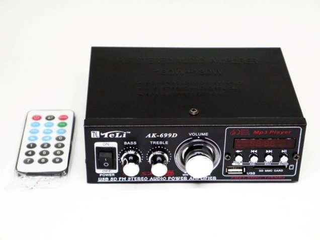 Усилитель AK-699D - USB, SD-карта, MP3 2x180W 2х канальный