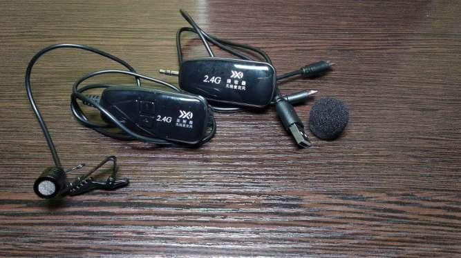 Беспроводный петличный микрофон