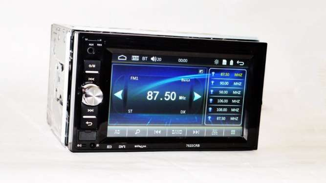 "2din Pioneer 7622 Магнитола 7"" Экран + AV-in + пульт на руль"