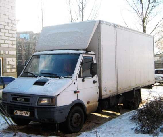 Продаю мебельный фургон IVECO DAILY