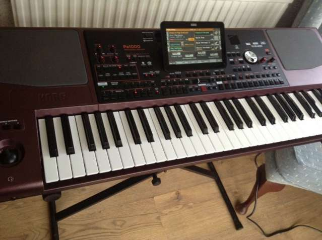 Korg Pa1000 61-Key Pro Arranger with Speakers