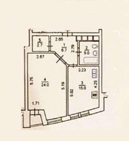 Печерск Щорса продается 1-ая квартира с ремонтом