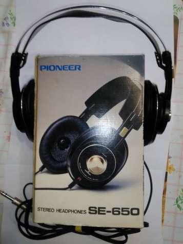 Продам винтажные наушники Pioneer SE-650 (Japan)