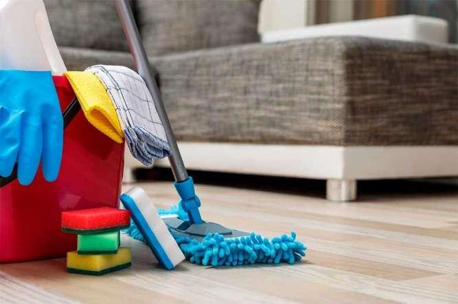 Компания по уборке - быстрая уборка и ремонт домов