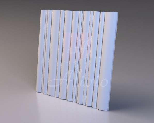 Гипсовые 3D панели Alivio серия Velum от производителя
