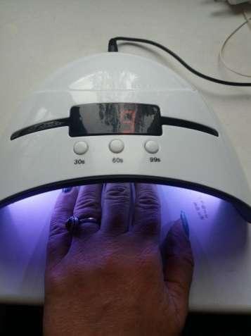 Сушка для ногтей,УФ светодиодная лампа для всех типов гель лаков 36 W