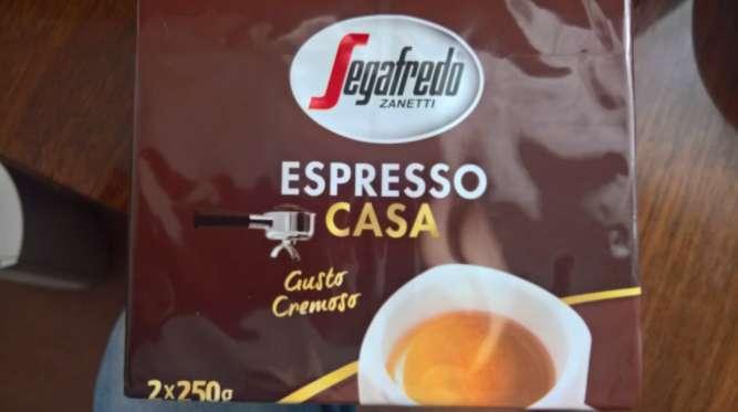 Оригінальна італійська кава Segafredo espresso casa (90% арабіка)