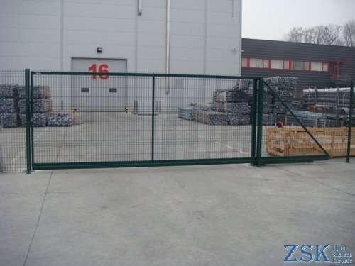 Ворота откатные (модульные) H-1,68м, L-3,5м