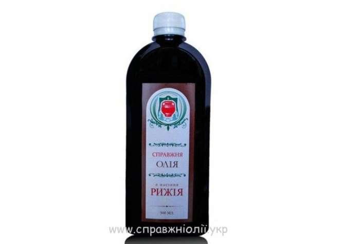Рыжейное (рыжиковое) масло оптом и в розницу