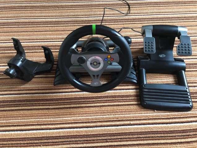 Руль Mad Catz Wireless для Xbox 360