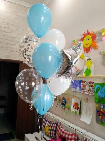 Гелиевые шарики. Фигурки из воздушных шаров.