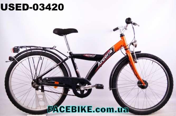 БУ Подростковый велосипед Arcona-Гарантия,Документы-у нас Большой выбо