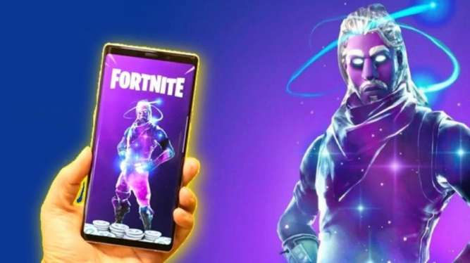 Fortnite IKONIK GALAXY S 10