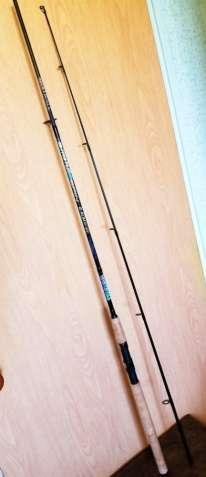 Спиннинг Mistrall Stratus III, 2,40m, 10-30g, карбон, Польша,+подарок