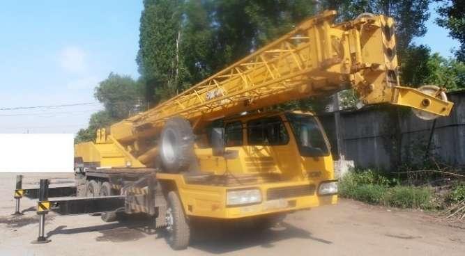 Продаем автомобильный кран XCMG QY25E, 25 тонн, 2006 г.в.