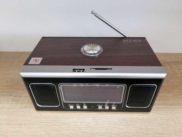 Радиоприемник Mobile Speaker SU-63, MP3, USB, SDcard