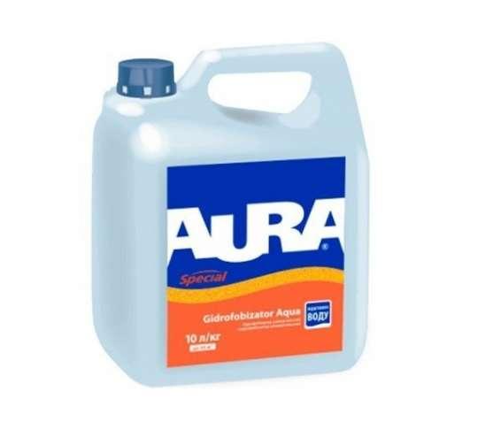 Водоотталкивающее средство Aura Gidrofobizator Aqua (10 кг.)