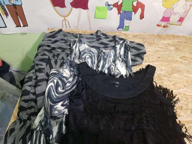 Платья оптом на базе секонд-хенд в Киеве #ЭкстраСток