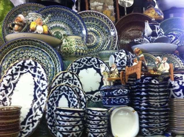 Узбекская керамика « Султан Шах »