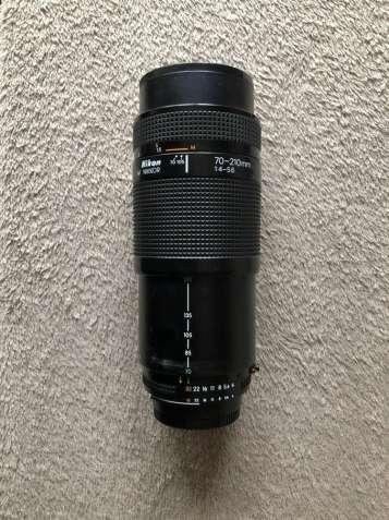 Объектив Nikon 70-210mm f/4-5.6