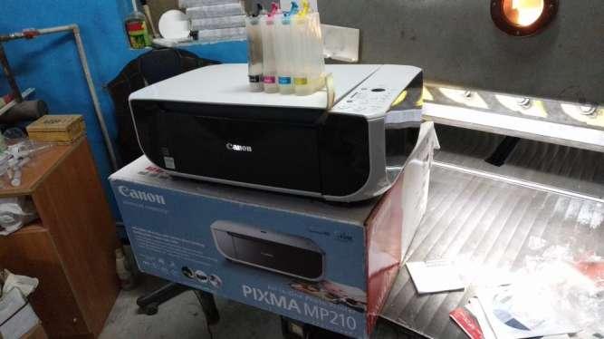 Принтер Canon mp210 с СНПЧ